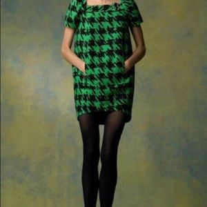Marc by Marc Jacobs Houndstooth Scribble Dress